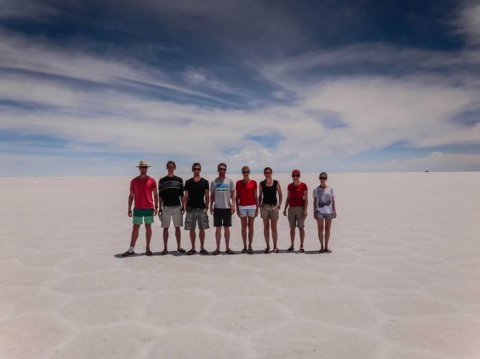 Salar de Uyuni Gruppe