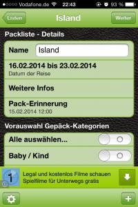 PackTheBag