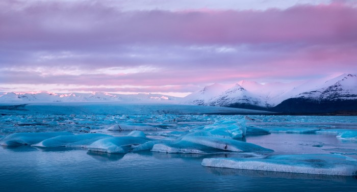 Island jokulsarlon