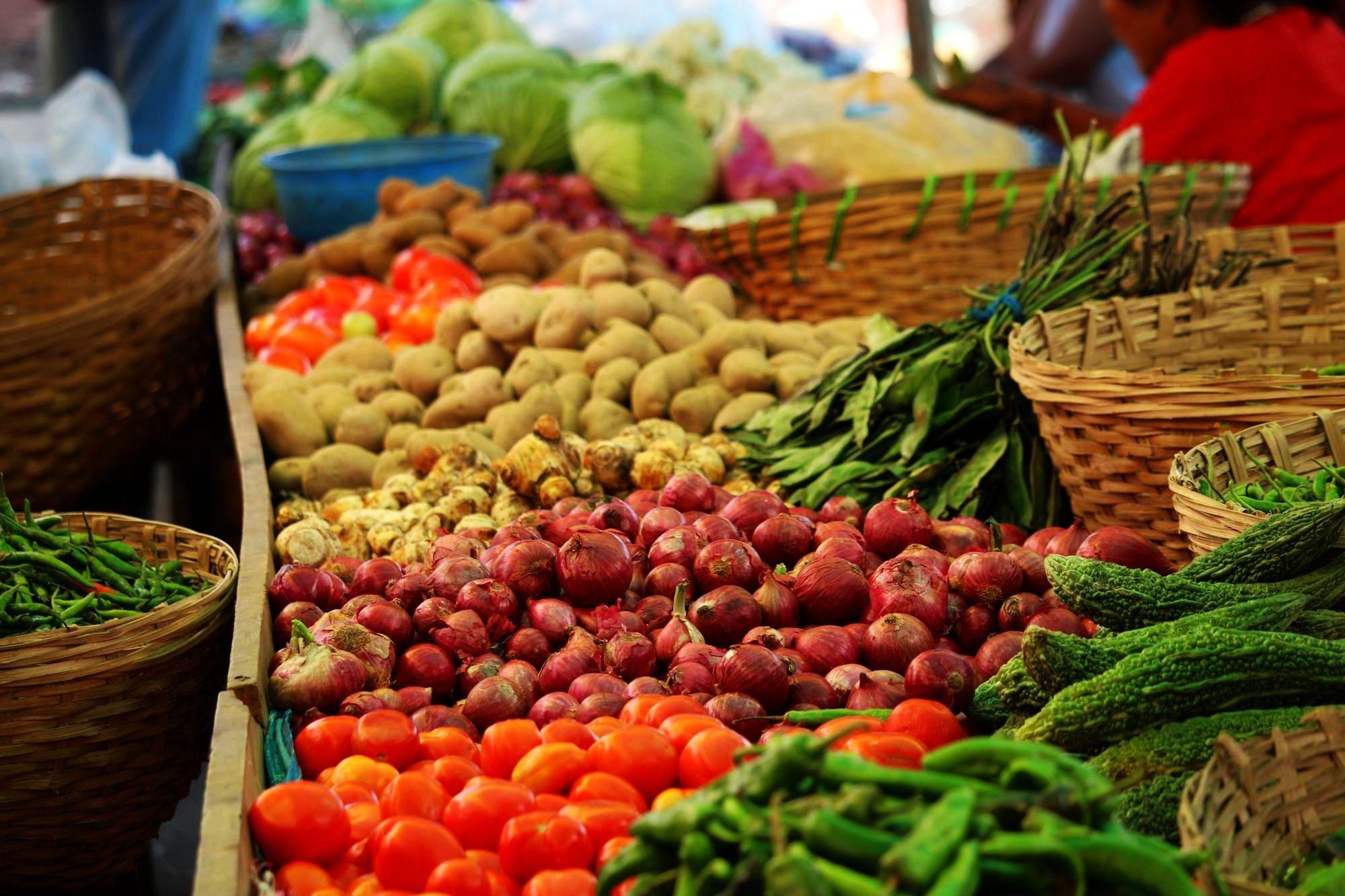 Gemuesemarkt in Paro