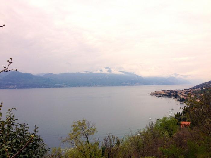 Gardasee von oben