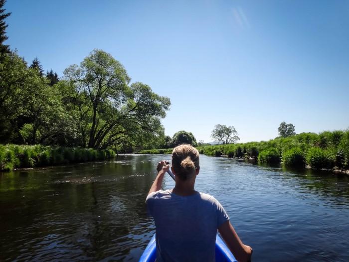 Moldau Kanu Trip