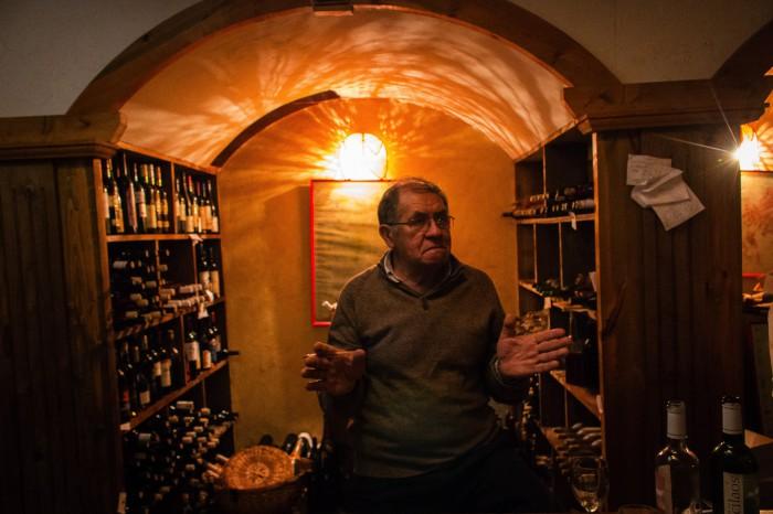 Weinprobe Tsilaosa